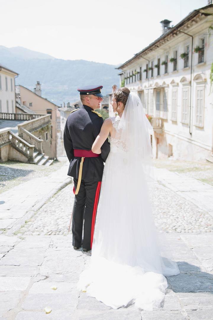 military-wedding-lake-orta-italy