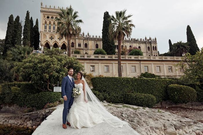 A Fabulous Destination For Sparkling Wedding At Isola Del Garda