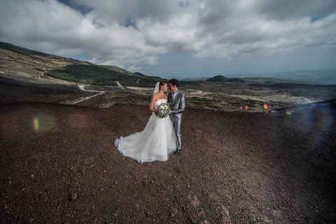 An Intimate Wedding on the top of Volcano Etna – Sicily