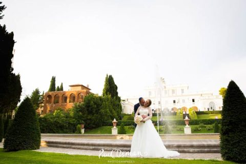 Laura and Moshie and their amazing jewish wedding in Rome