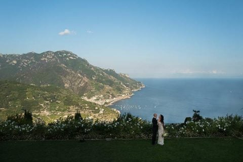 A romantic elope in Ravello for Jennifer and Joseph