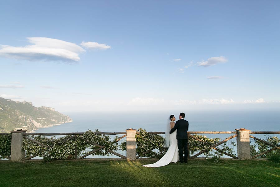 Villa Cimbrone, an incredible venue on Amalfi Coast