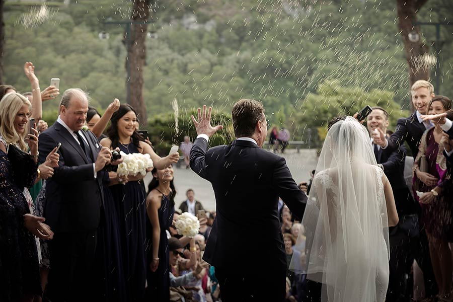 Just married in Ravello!
