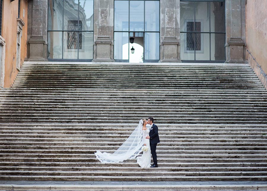 Wedding photo session in Rome