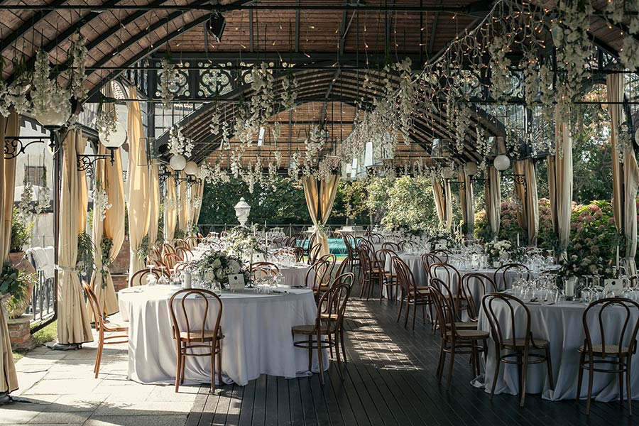 Luxury wedding in Piemonte countryside Italy