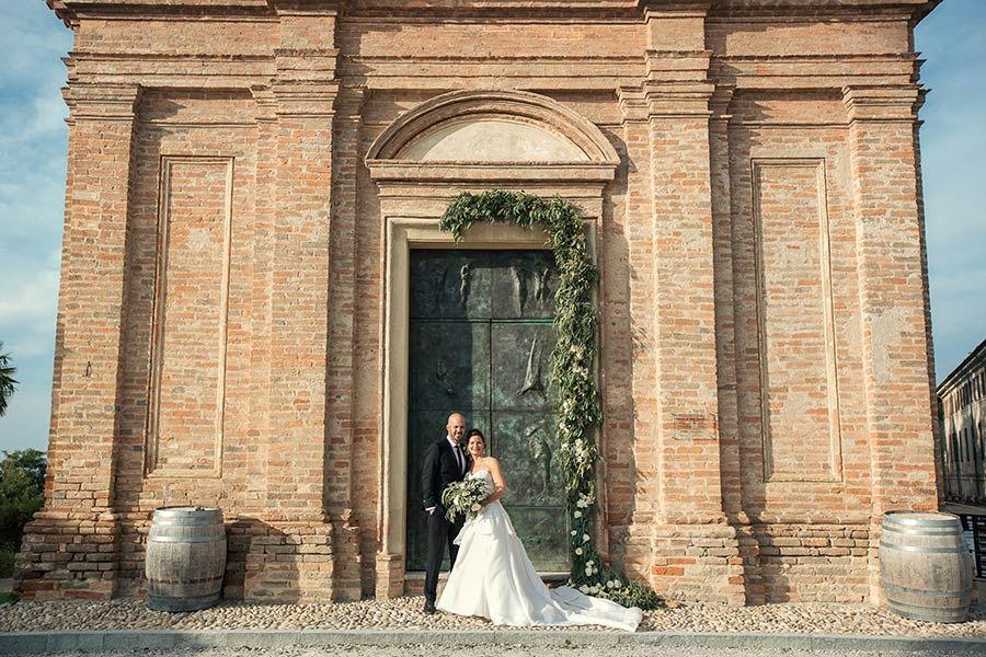 Vineyards weddings in Italy | Church ceremony in Langhe