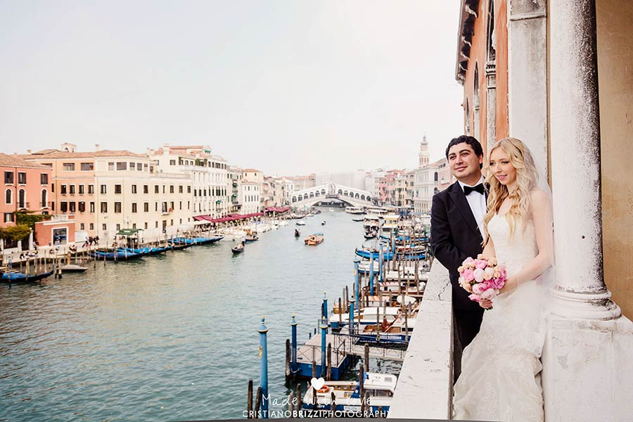 Canal Grande - wedding in Venice