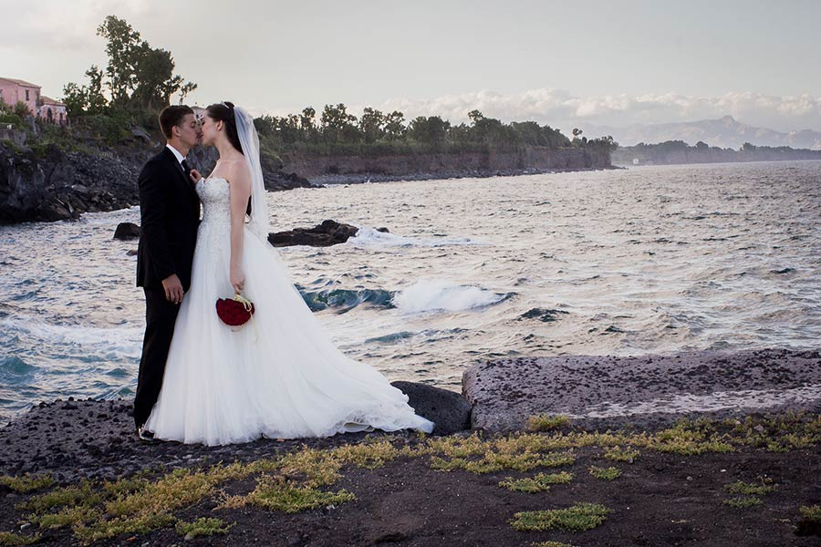 Wedding in Sicily, a dream by Mediterranean sea