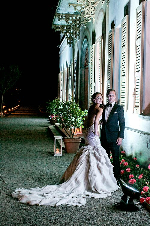 A spume stylish wedding on Lake Como!