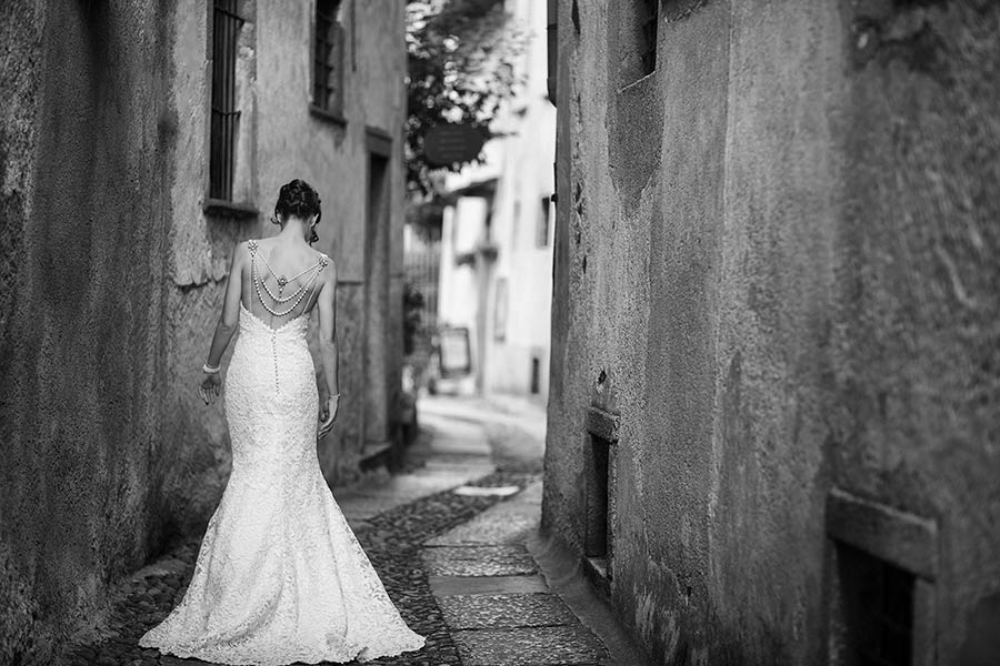 Wedding on St. Julius Island, Lake Orta