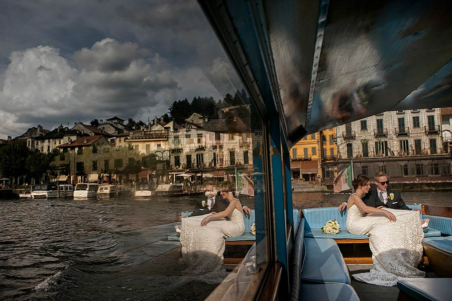 Wedding in charming Orta San Giulio