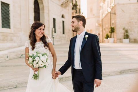 A destination wedding in Trani: one of the most beautiful location in Apulia