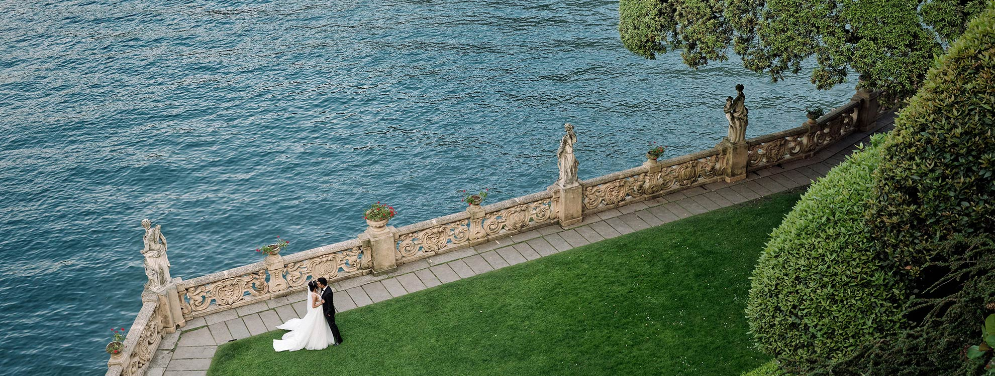 Destination wedding planners in Italy