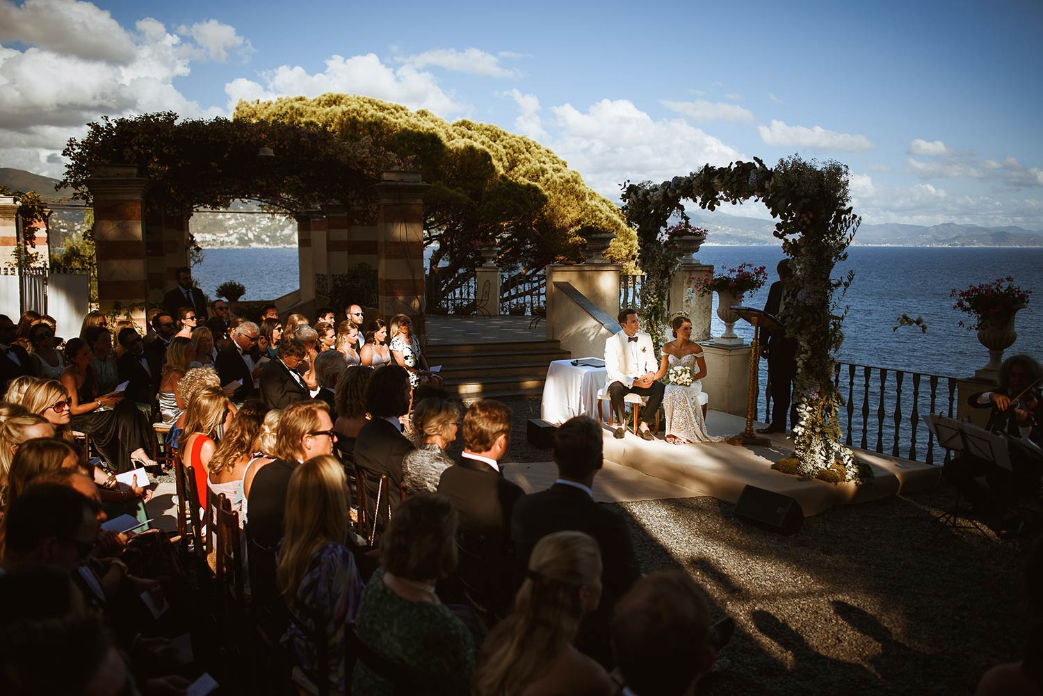 Wedding at La Cervara in Portofino