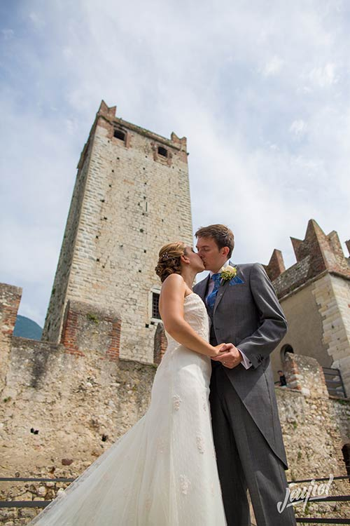 Wedding under the Scaligeri Tower