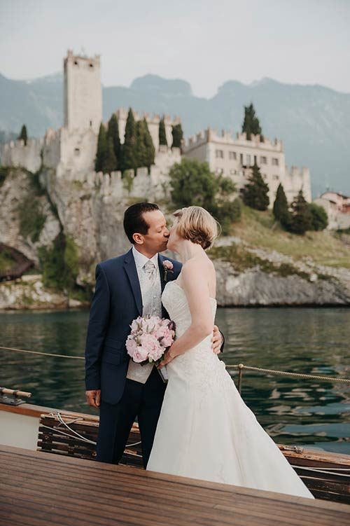 Wedding at Malcesine Castle