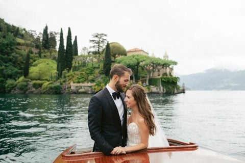 Dan & Sasha, a very chic wedding at Villa d'Este - Lake Como