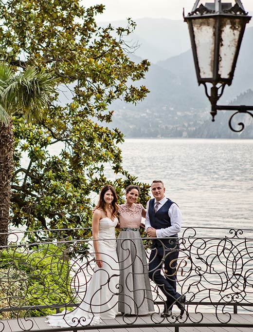 Varenna wedding Indra & Aurimas - wedding in italy reviews