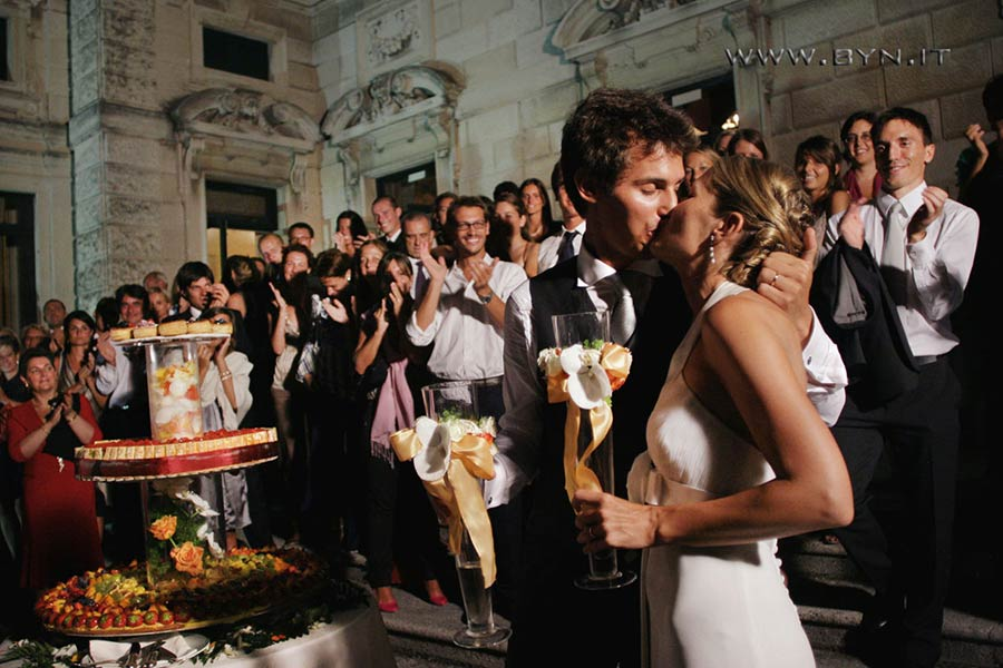 Wedding ceremony and reception in Villa Erba