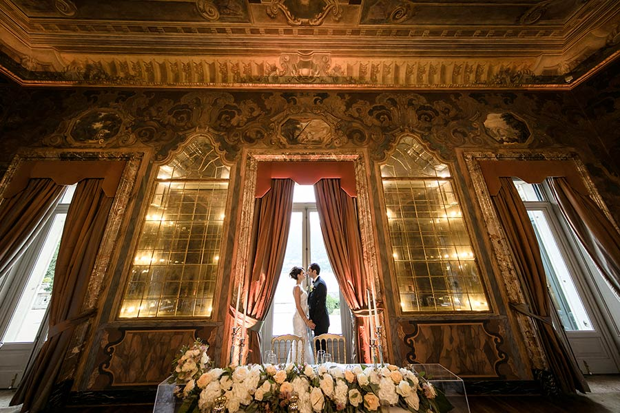 Villa Erba is an excellent venue for unique weddings on Lake Como