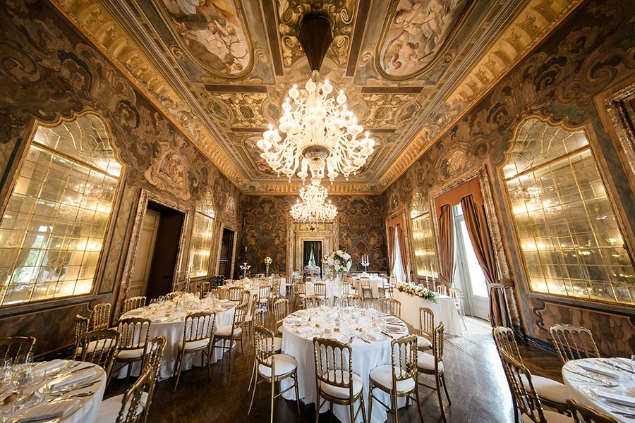 Luxury venue on Lake Como