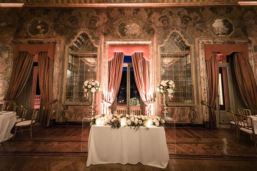 Thirdly, and most importantly, Villa Erba is the ideal venue where to celebrate an unforgettable wedding