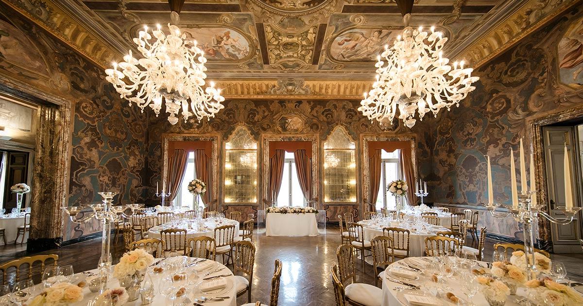 Villa Erba Lake Como Wedding In Villa Erba Wedding