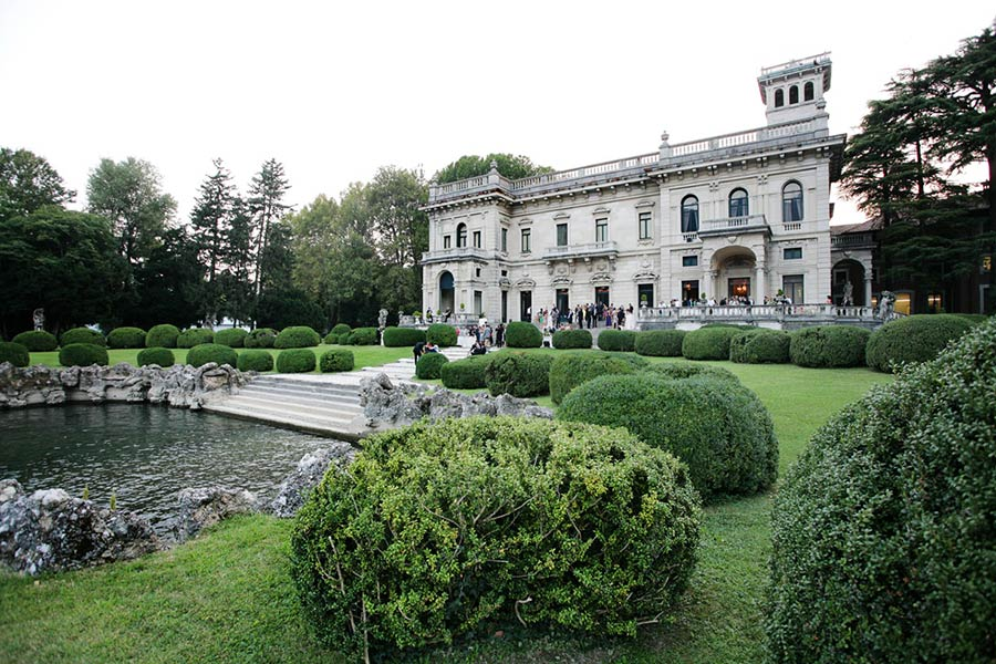 Villa Erba wedding Lake Como