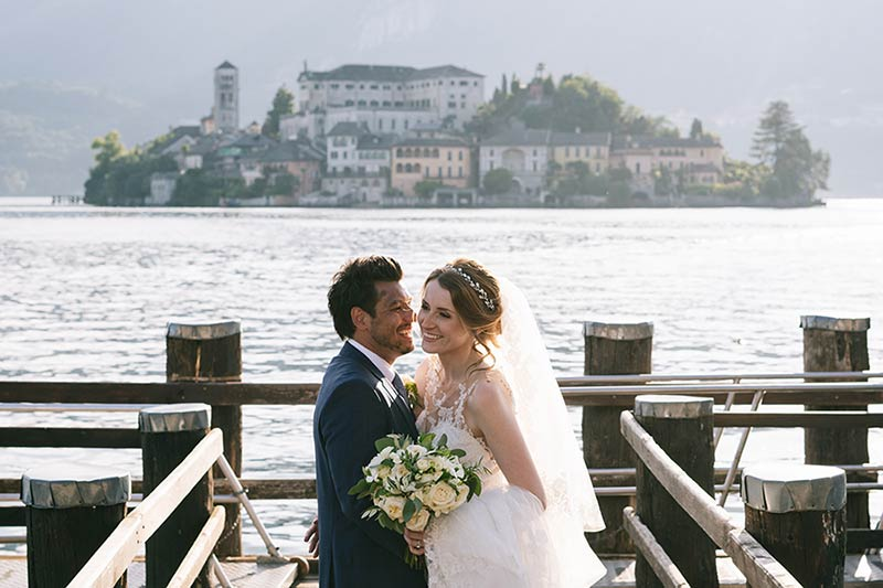 Lake Orta wedding in Italy reviews