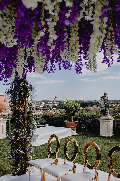 A wedding at Villa Miani could be a perfect idea for your special day in Rome