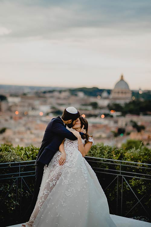 Just married in Rome!