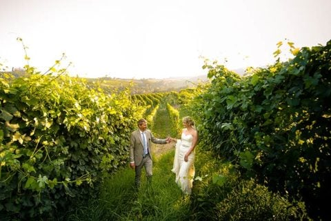 A romantic Wedding in the land of Barolo Wine – Langhe