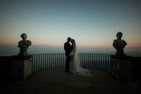 A romantic Iranian-American Wedding in Ravello