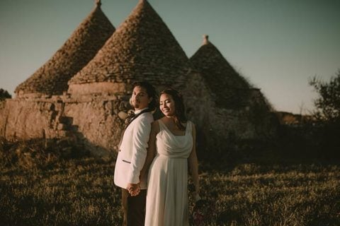 A beautiful winter elope in Apulia