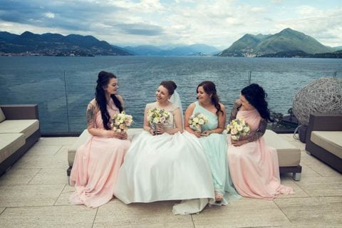 A chic wedding on Pescatori Island Lake Maggiore